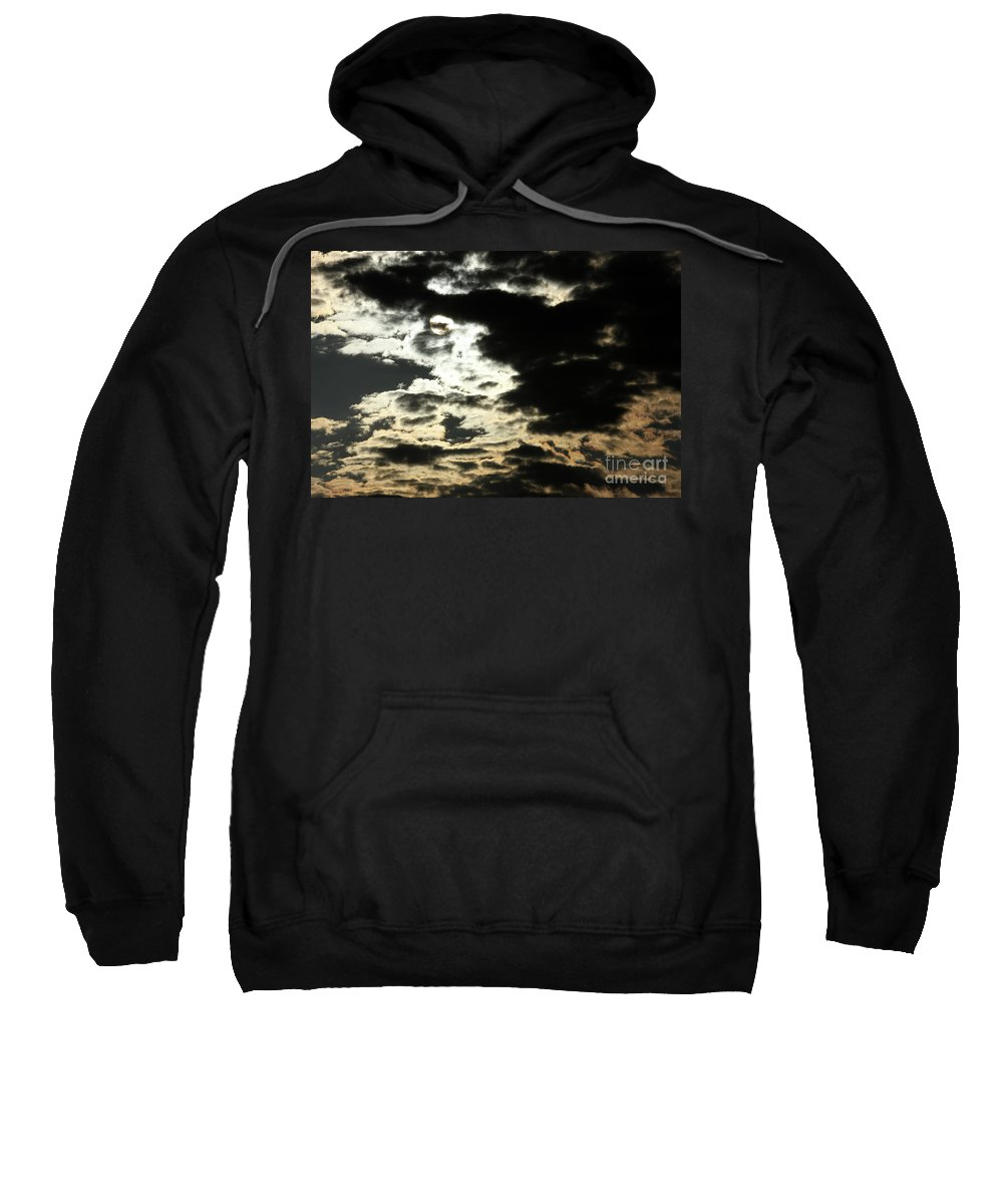 Sky Sweatshirt featuring the photograph The Sky Speaks by Karol Livote