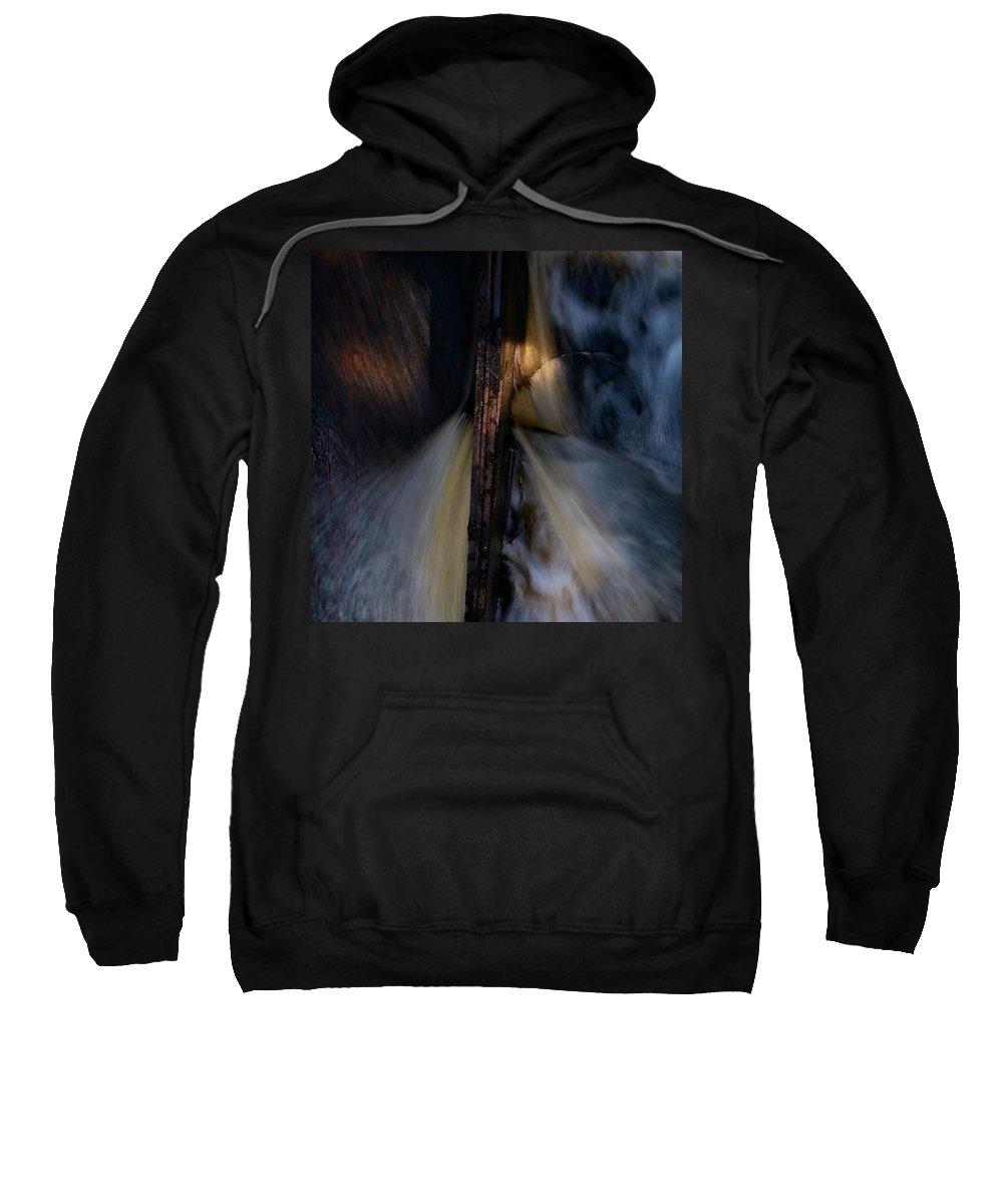 Lehtokukka Sweatshirt featuring the photograph The Stream 2 by Jouko Lehto