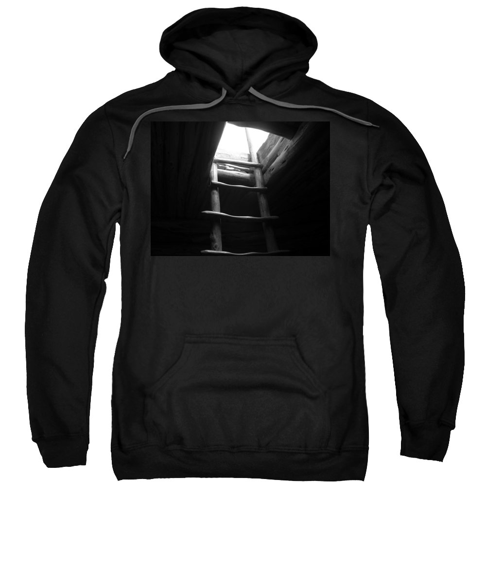 Stairs Sweatshirt featuring the photograph The Way Out by Adam Vance