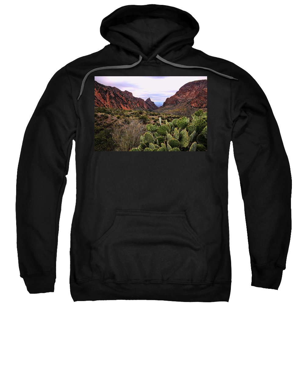Big Bend National Park Sweatshirt featuring the photograph The Window 2 by Judy Vincent