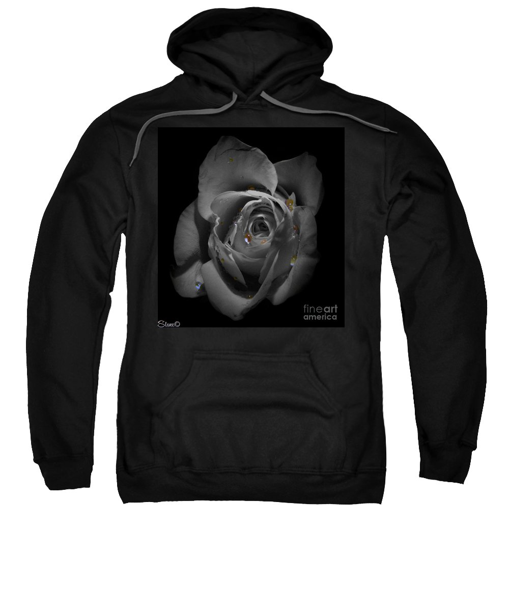 Rose Sweatshirt featuring the photograph Thirty Six by September Stone