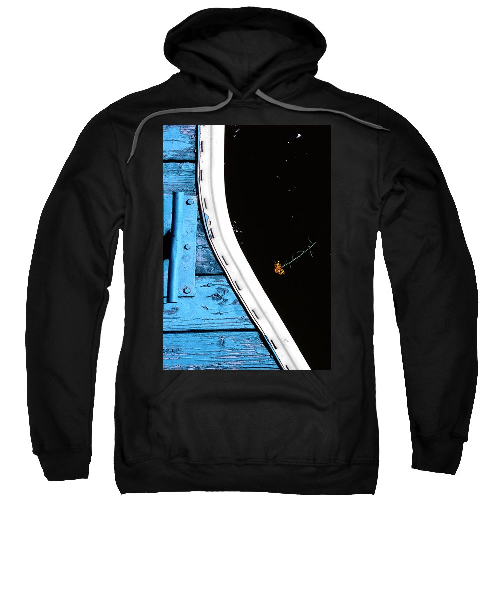 Dock Sweatshirt featuring the photograph This Space Available by Paul Wear