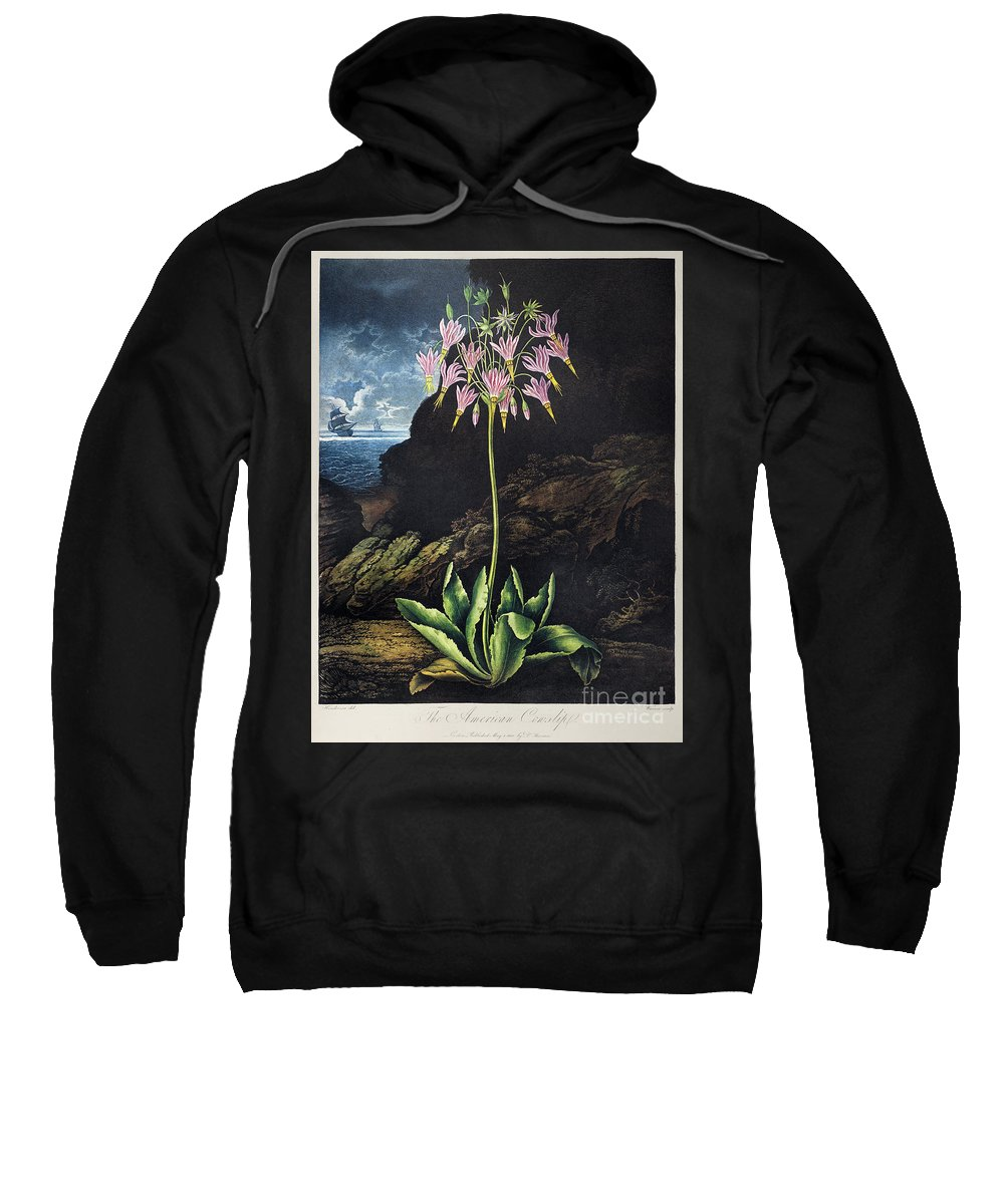 1801 Sweatshirt featuring the photograph Thornton: Cowslip by Granger
