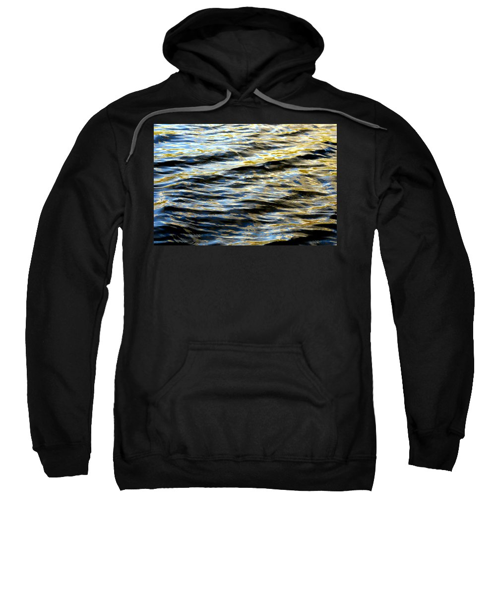 Water Sweatshirt featuring the photograph Through Darkness Came Light by Donna Blackhall