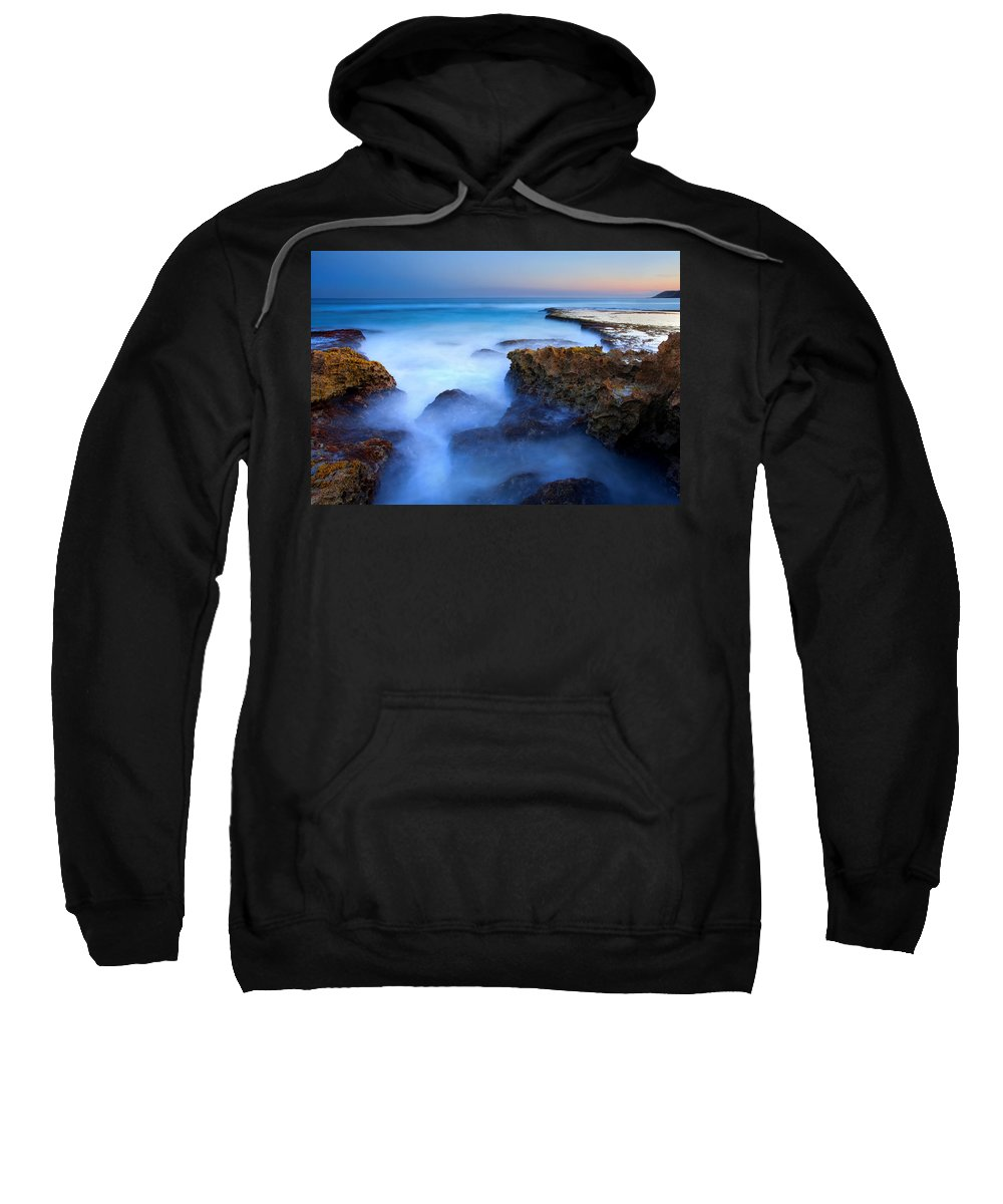 Pennington Bay Sweatshirt featuring the photograph Tidal Bowl Boil by Mike Dawson