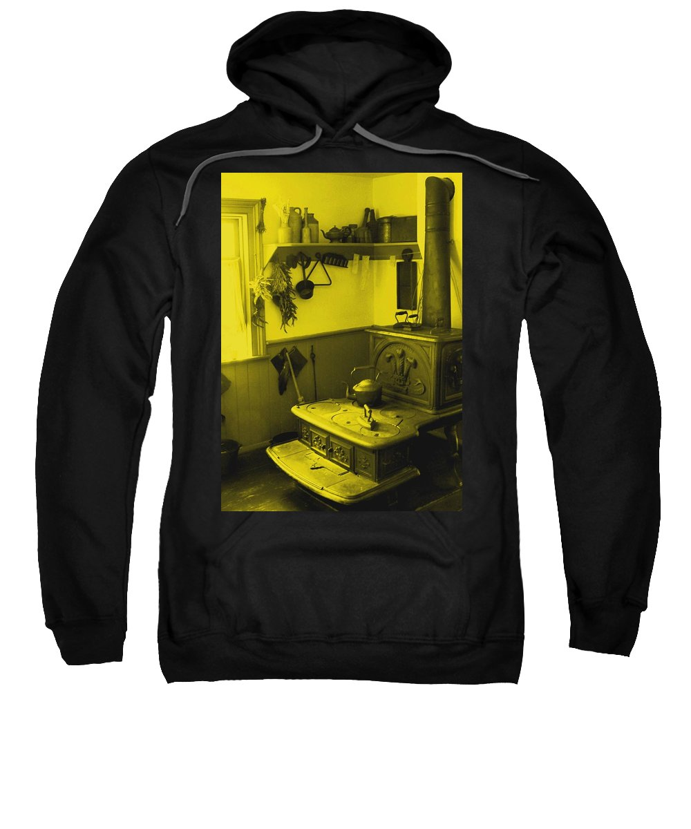 Iron Sweatshirt featuring the photograph Time For A New Kitchen by Ian MacDonald