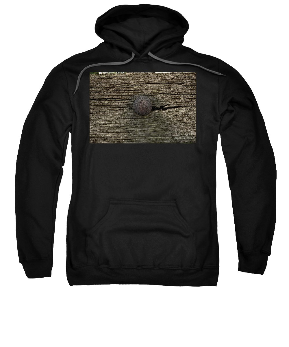 Time Sweatshirt featuring the painting Time Goes By by Steve K