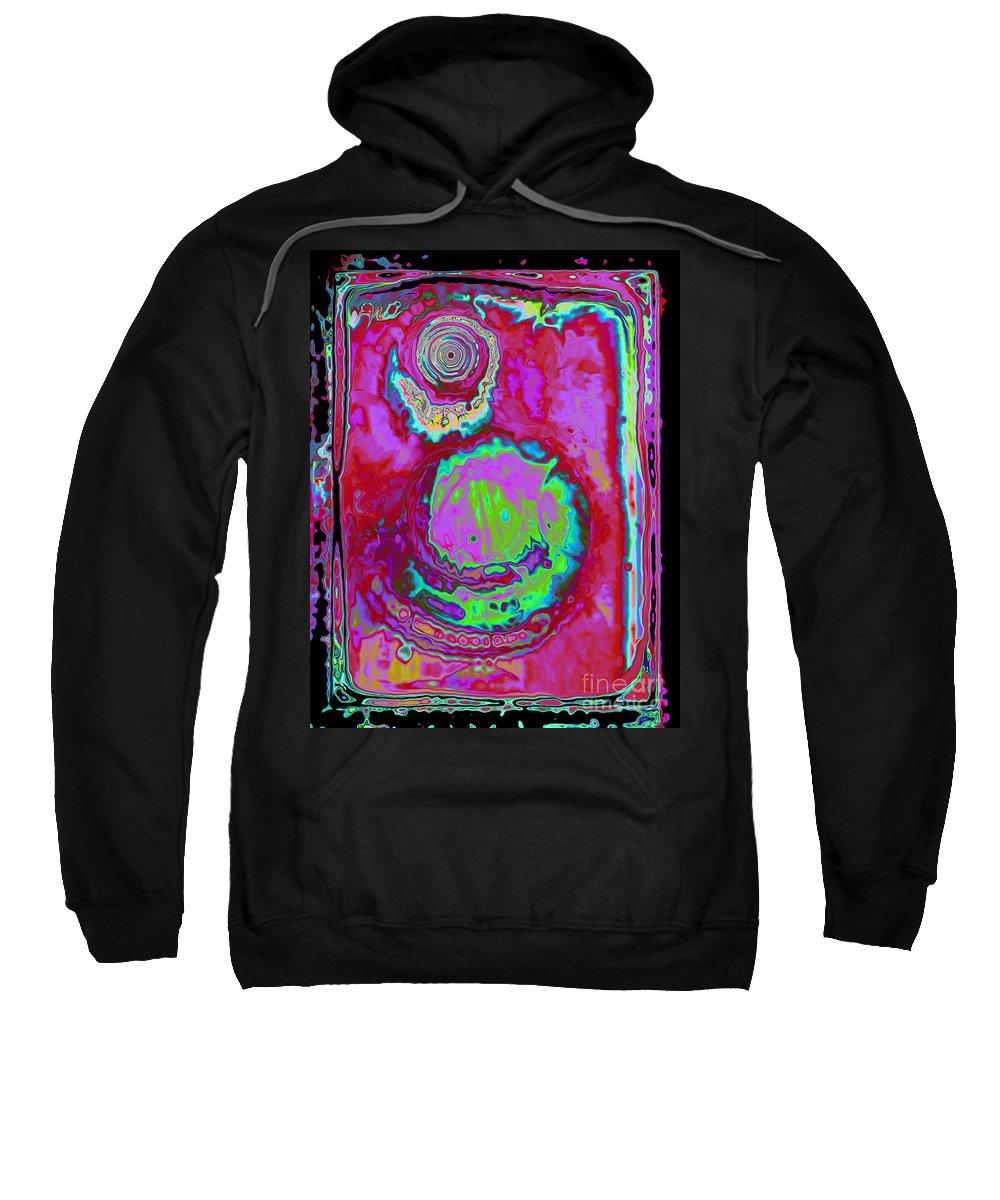 Fantasy Sweatshirt featuring the digital art Time Slip by Roxy Riou
