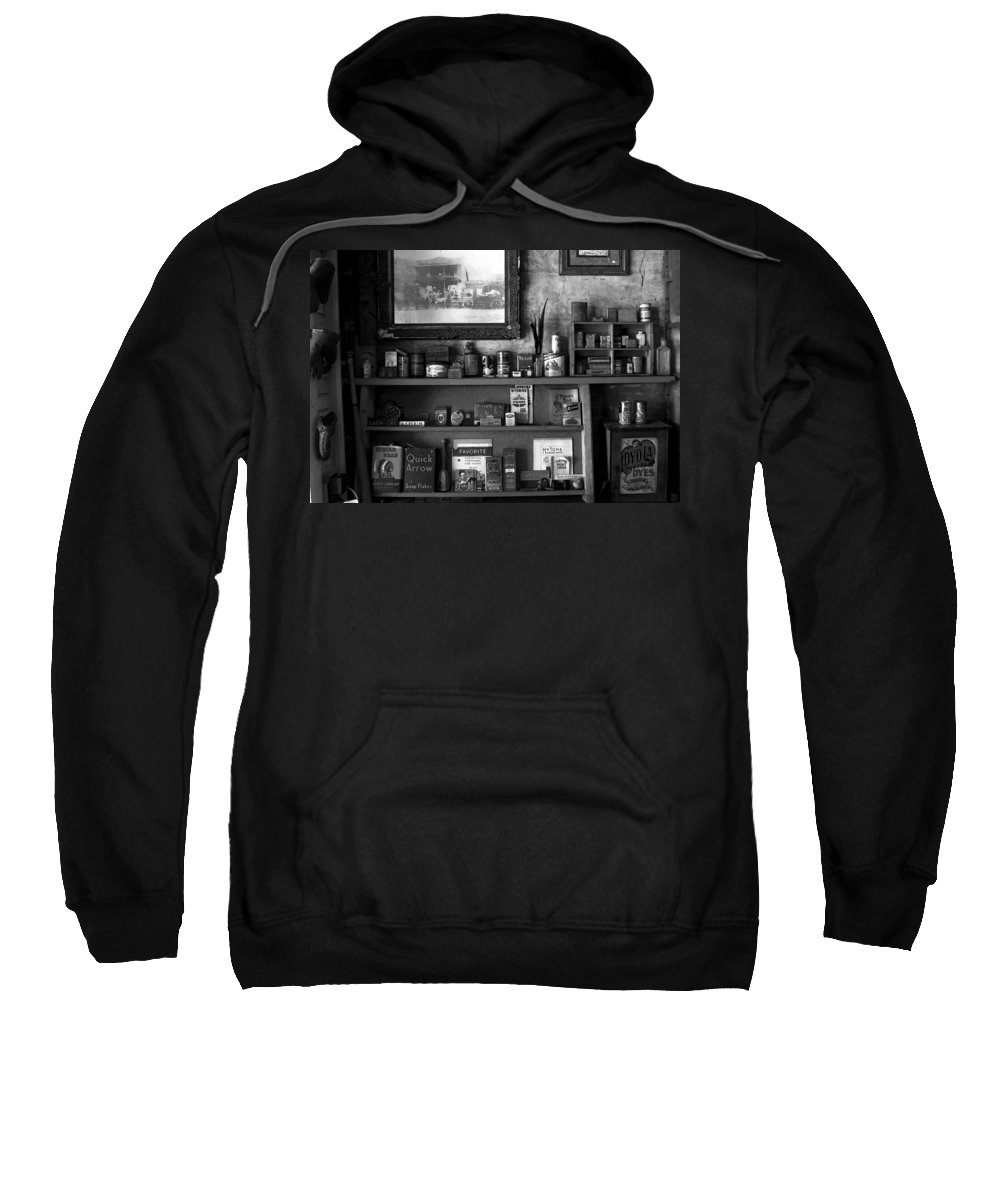 Antics Sweatshirt featuring the painting Time Standing Still by David Lee Thompson