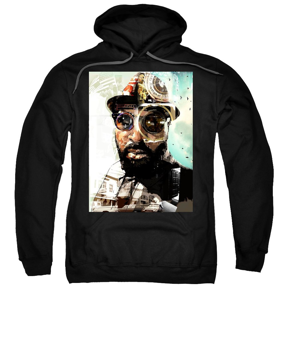 Sweatshirt featuring the photograph Time To Shoot by Jp Wright