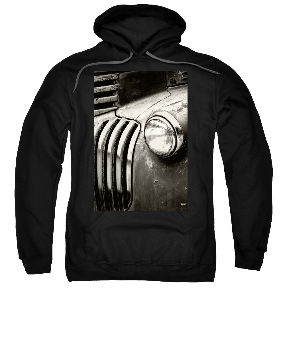 Cars Sweatshirt featuring the photograph Time Traveler by Holly Kempe