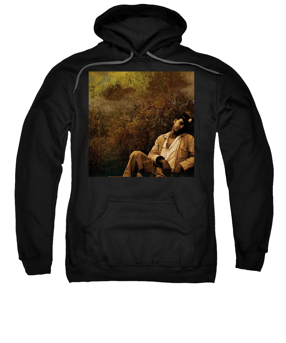 Sailer Sweatshirt featuring the photograph Time Warp by Jeff Burgess