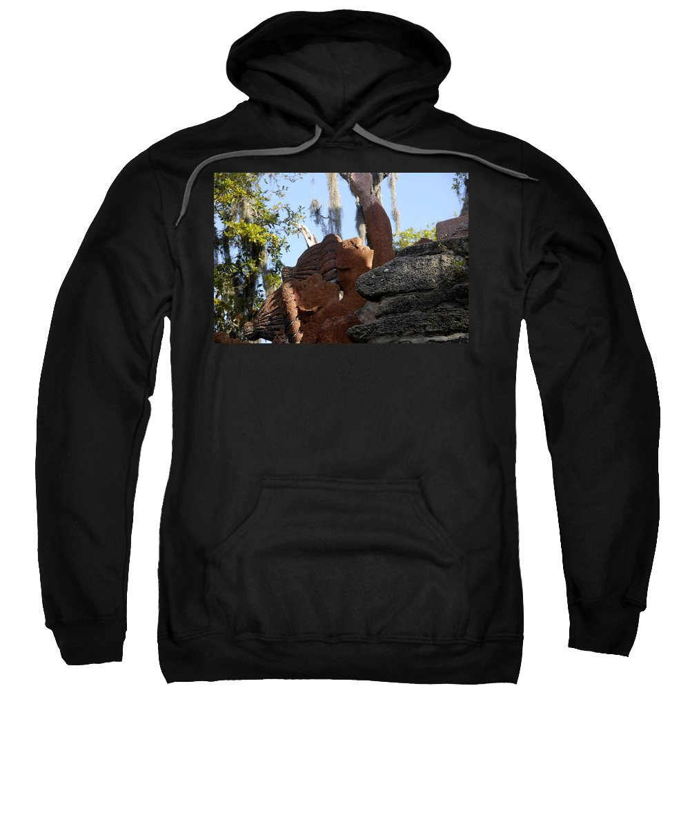 Timucuans Sweatshirt featuring the photograph Timucuans by David Lee Thompson