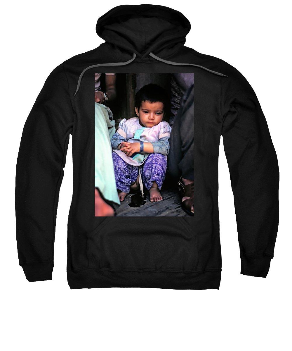 India Sweatshirt featuring the photograph Tiny Tinkler by Steve Harrington