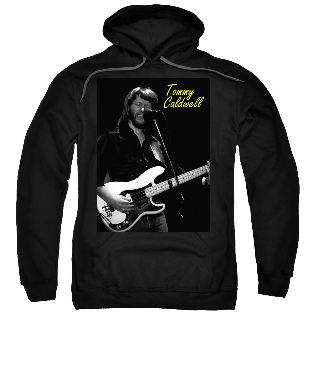 Marshall Tucker Sweatshirt featuring the photograph Tommy Caldwell In Spokane 2 by Ben Upham