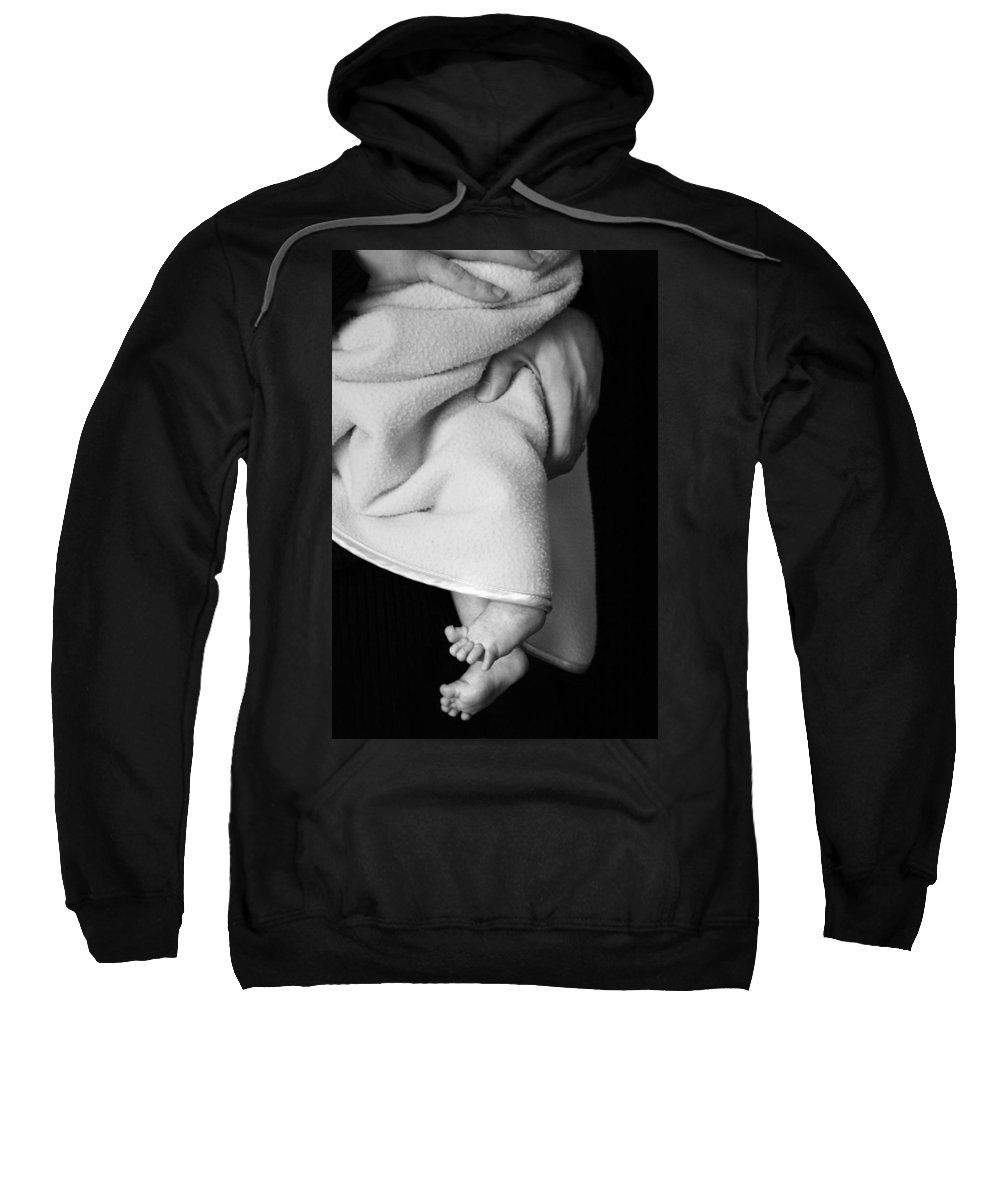 Baby Sweatshirt featuring the photograph Tootsies by Angela Rath