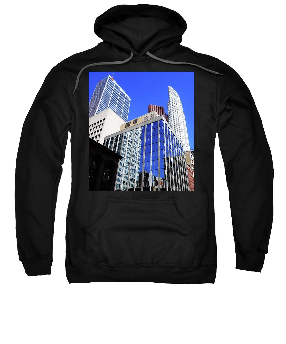 Toronto Sweatshirt featuring the photograph Toronto 12 by Ron Kandt