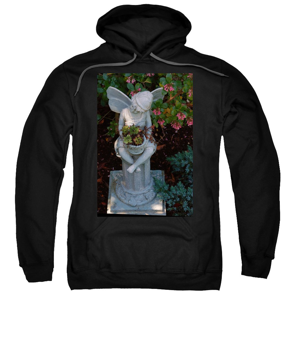 Earth's Flowers Sweatshirt featuring the photograph Tranquil by Carol Eliassen