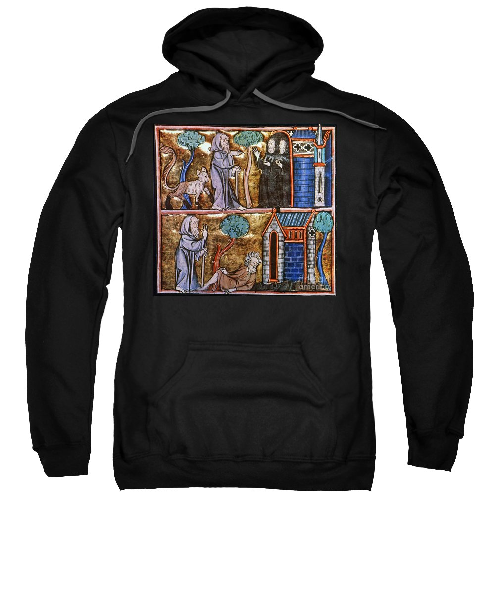 14th Century Sweatshirt featuring the photograph Travels Of Merlin by Granger