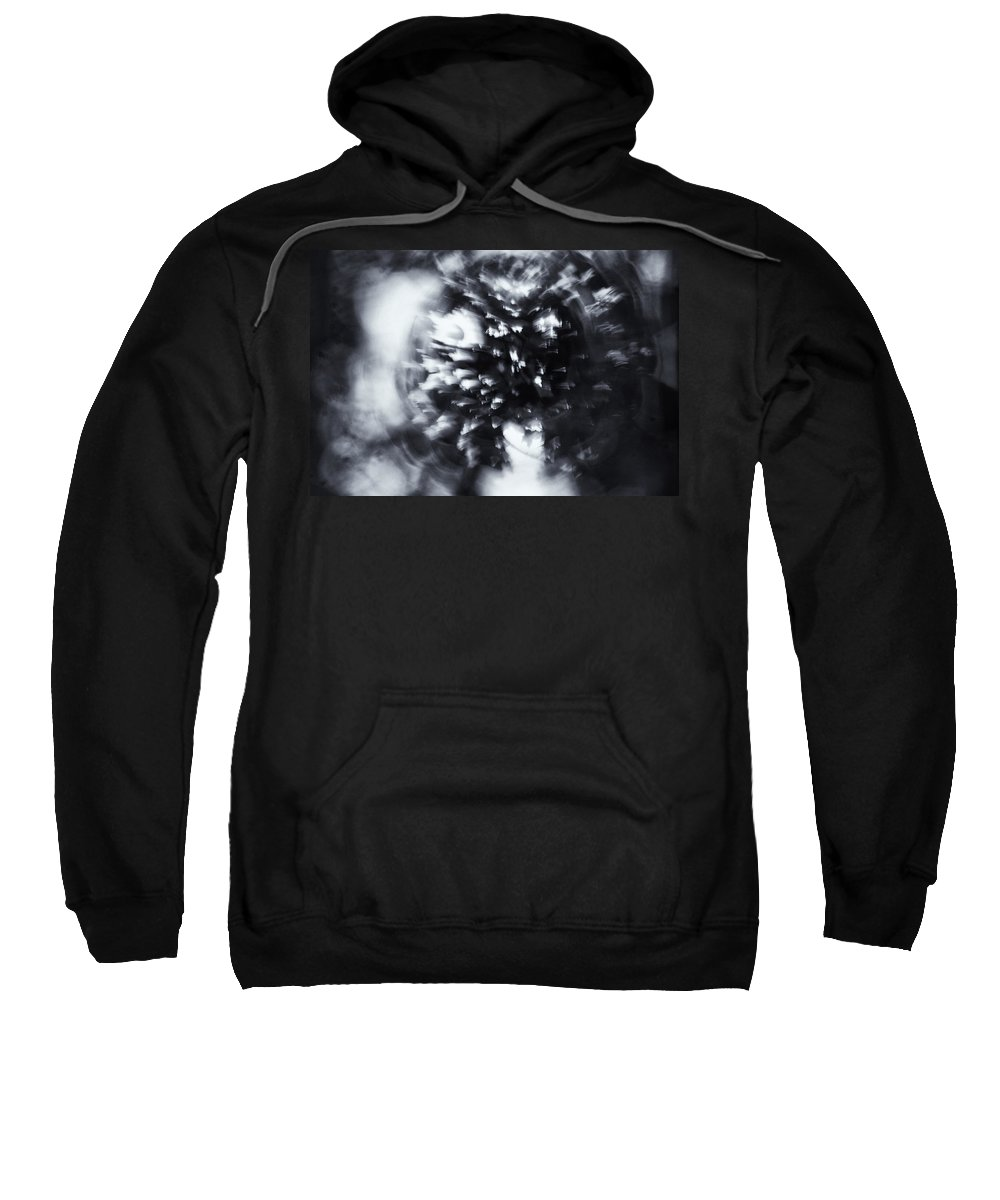 Abstract Sweatshirt featuring the photograph Tree Implosion by Scott Wyatt