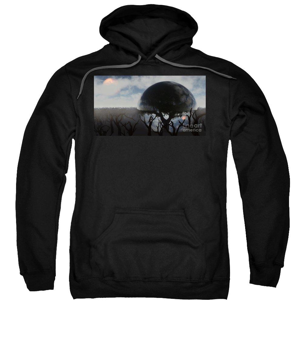 Life Sweatshirt featuring the digital art Tree Of Life by Richard Rizzo