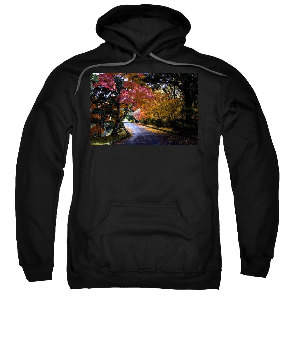 Trees Sweatshirt featuring the photograph Trees In Japan 1 by George Cabig
