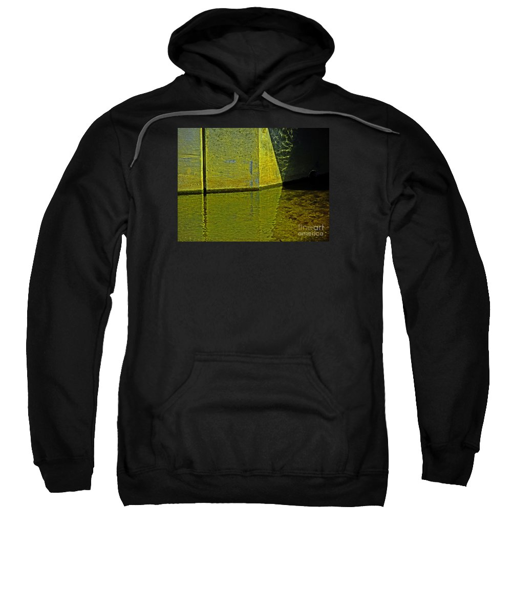 Geometric Sweatshirt featuring the photograph Triangles, Rectangles Lines And Refletcions by David Frederick