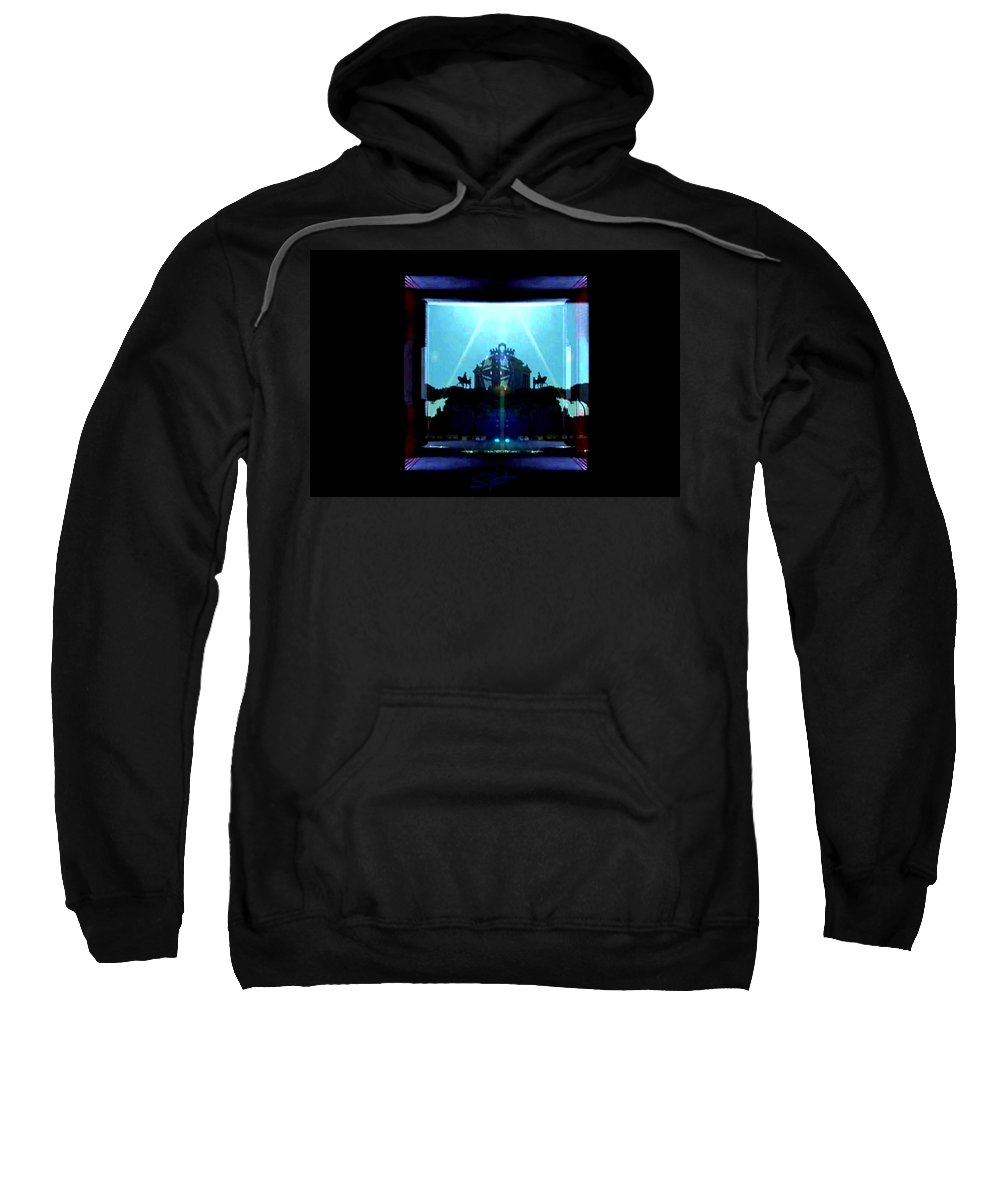 Dream Sweatshirt featuring the photograph Triumph In Rome by Charles Stuart