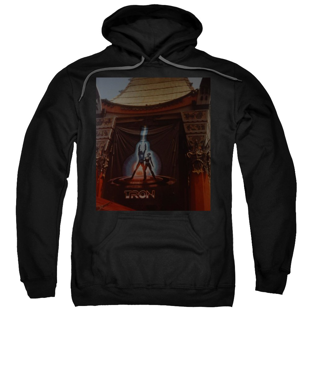 Grumanns Chinese Theater Sweatshirt featuring the photograph Tron by Rob Hans