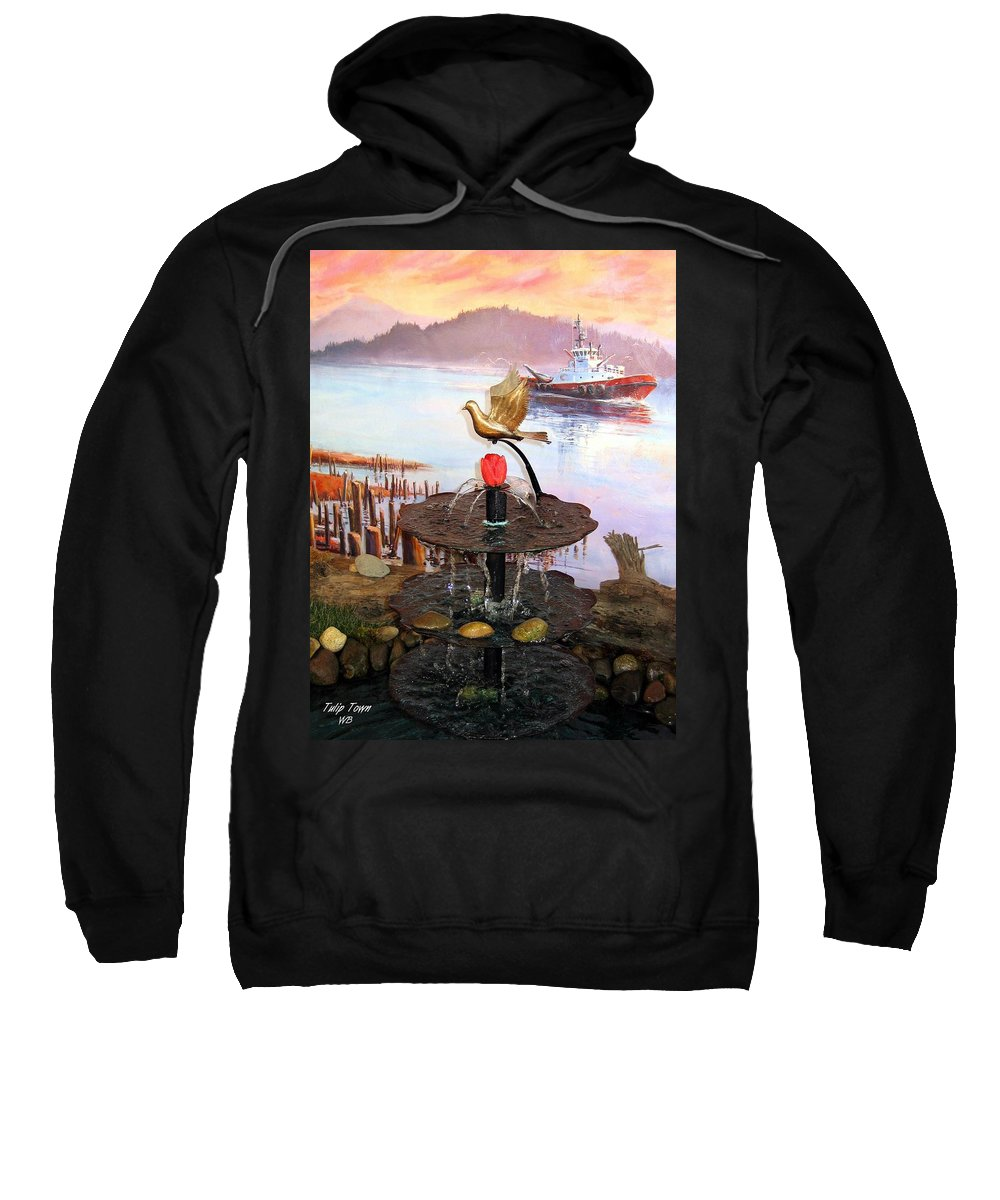 Agriculture Sweatshirt featuring the photograph Tulip Town 20 by Will Borden