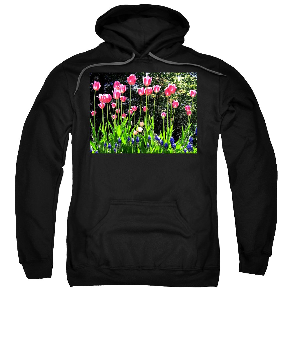 Tulips Sweatshirt featuring the photograph Tulipfest 10 by Will Borden