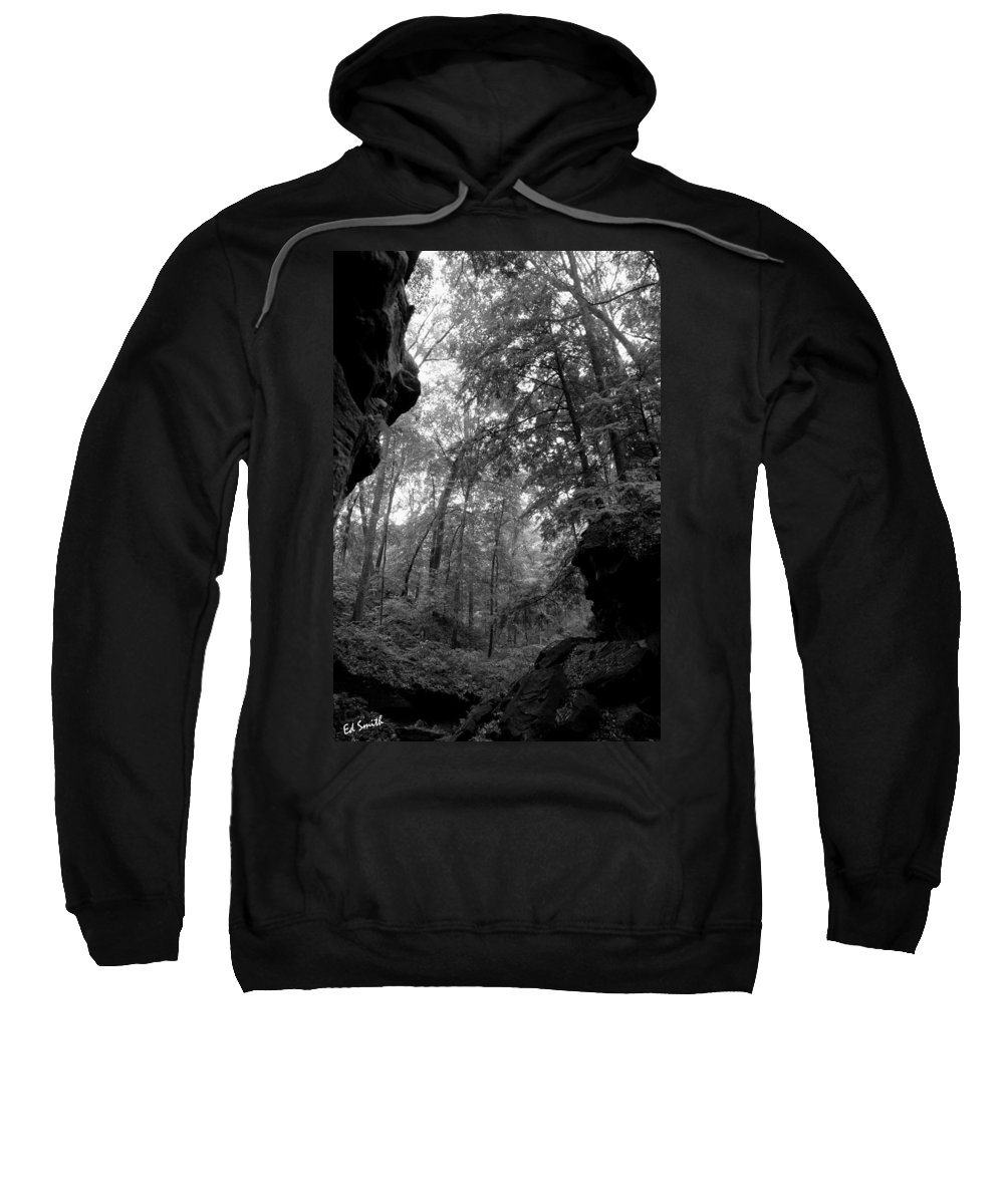 Tunnel Of Love Sweatshirt featuring the photograph Tunnel Of Love by Ed Smith