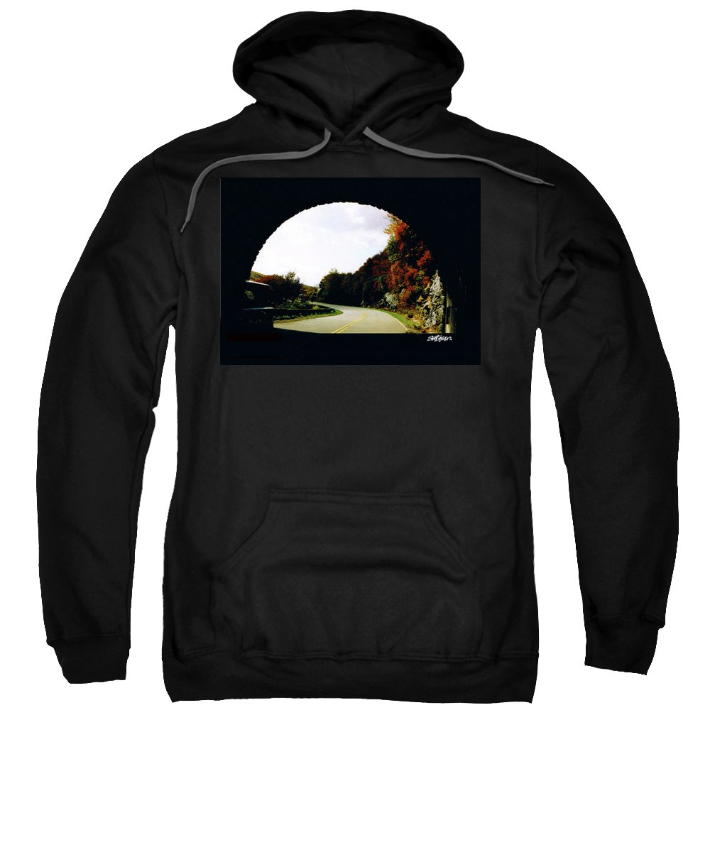 Tunnel Vision Sweatshirt featuring the photograph Tunnel Vision by Seth Weaver