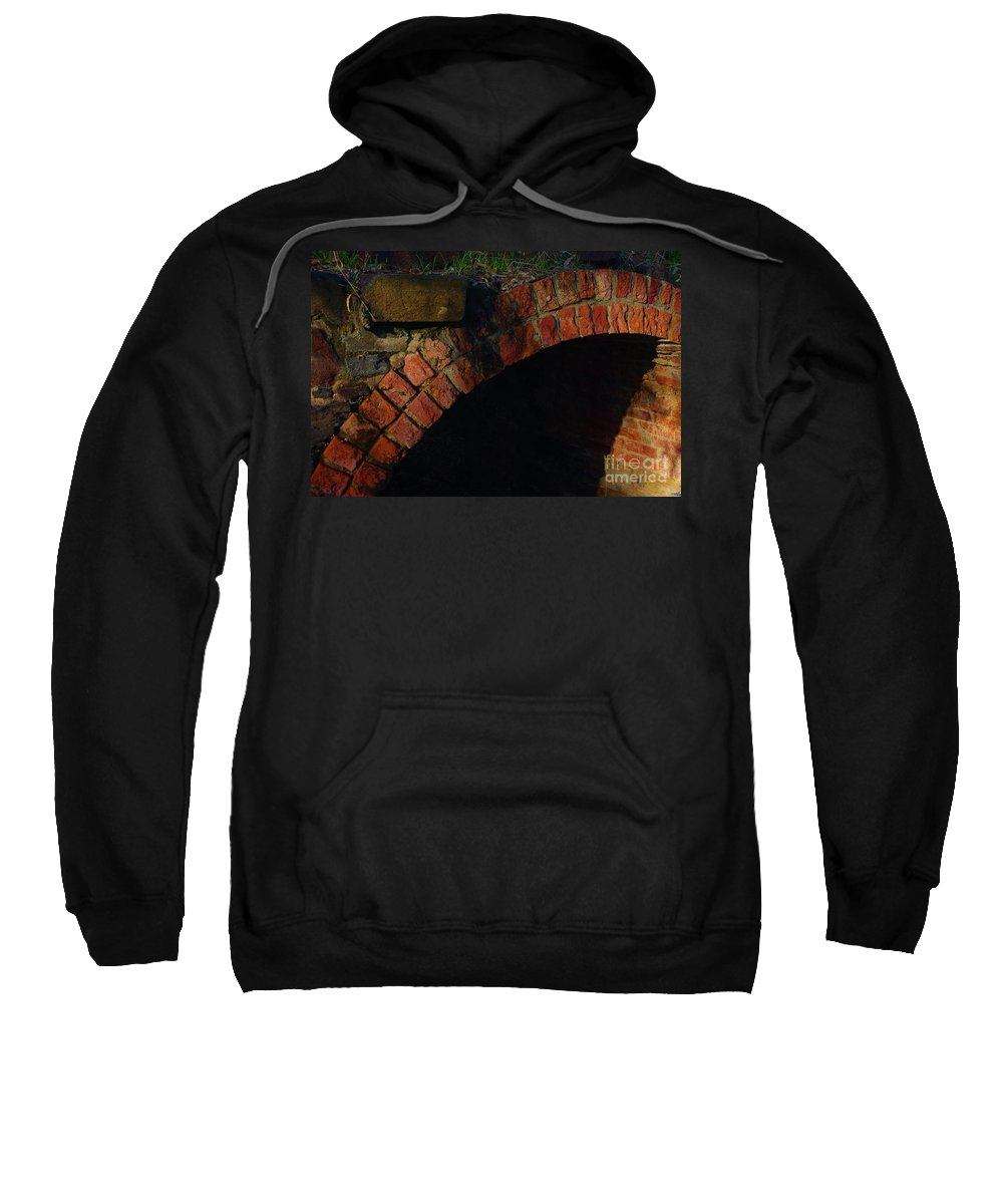 Lorles Lifestyles Sweatshirt featuring the photograph Tunnelling by Lorles Lifestyles