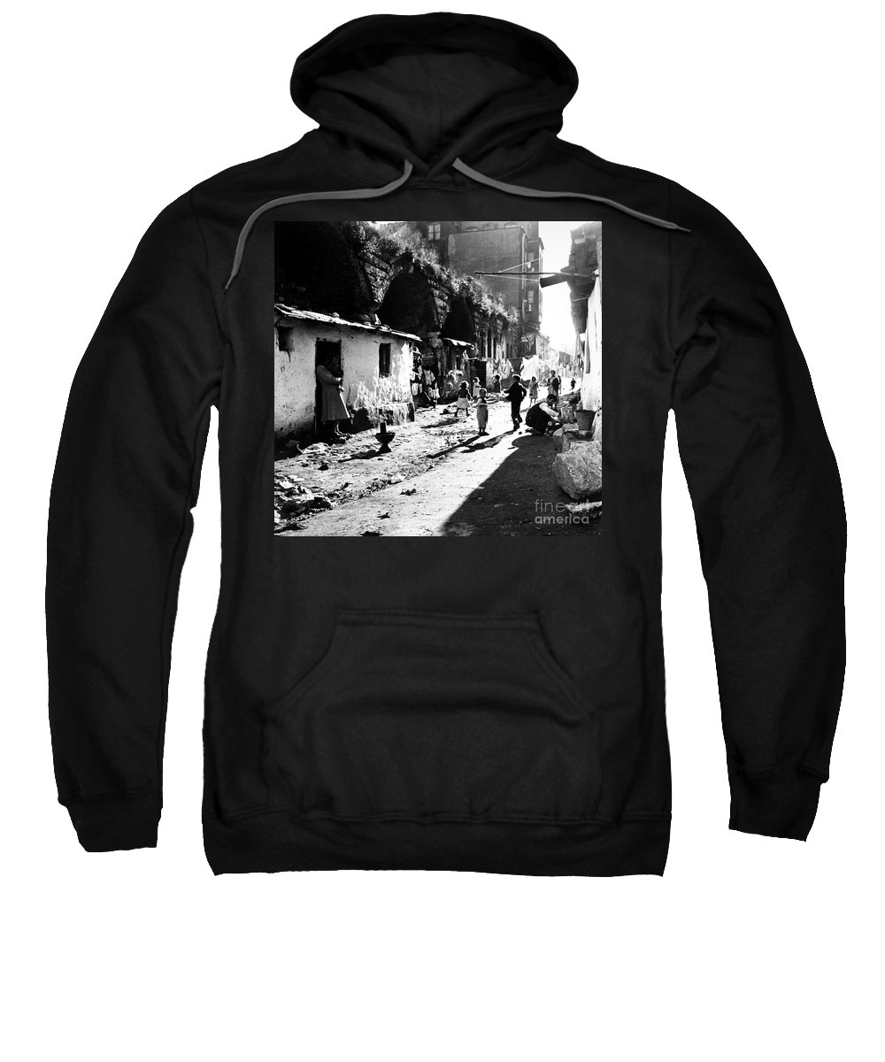 1952 Sweatshirt featuring the photograph Turkey: Istanbul, 1952 by Granger