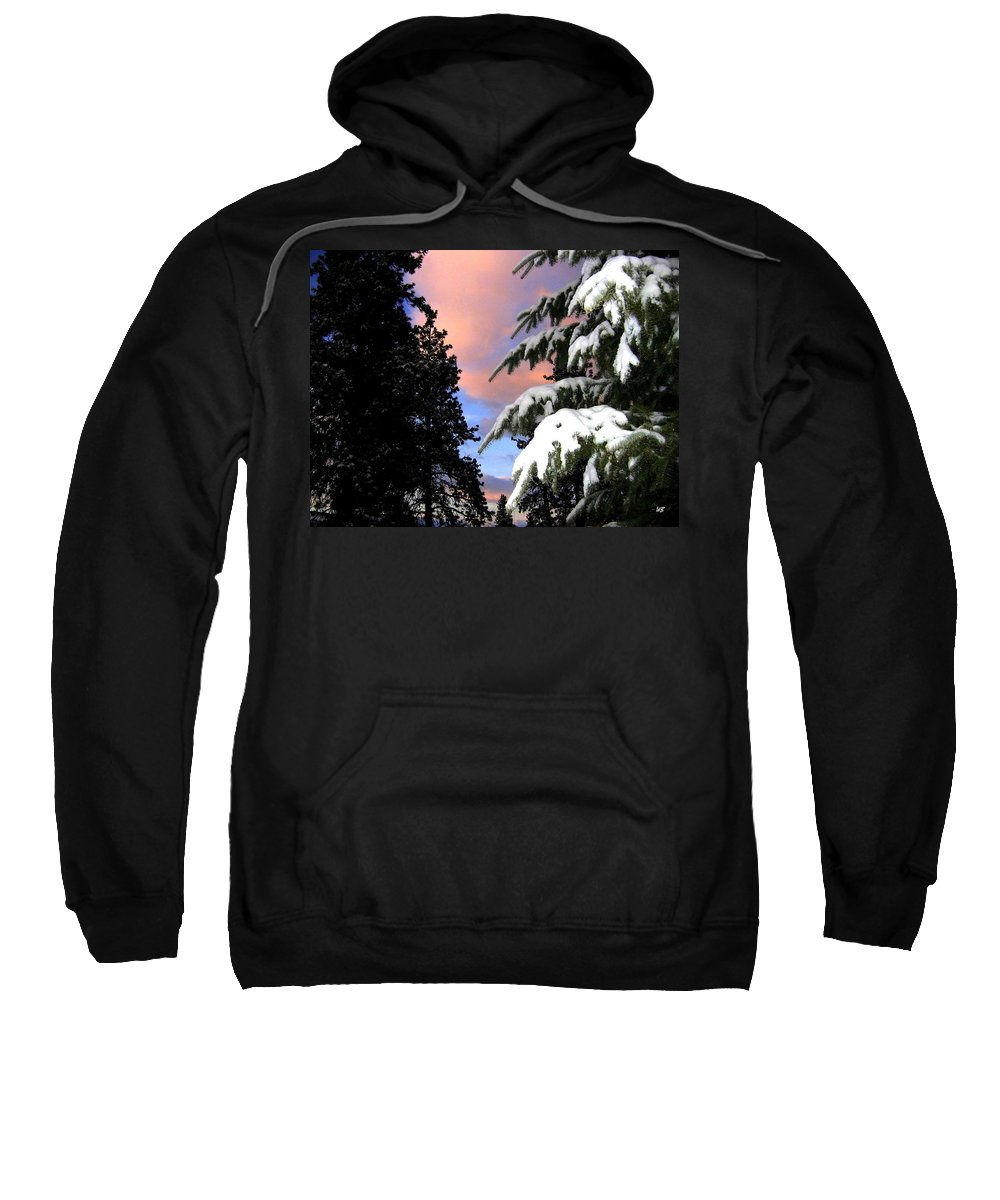 Sunset Sweatshirt featuring the photograph Twilight Hour by Will Borden