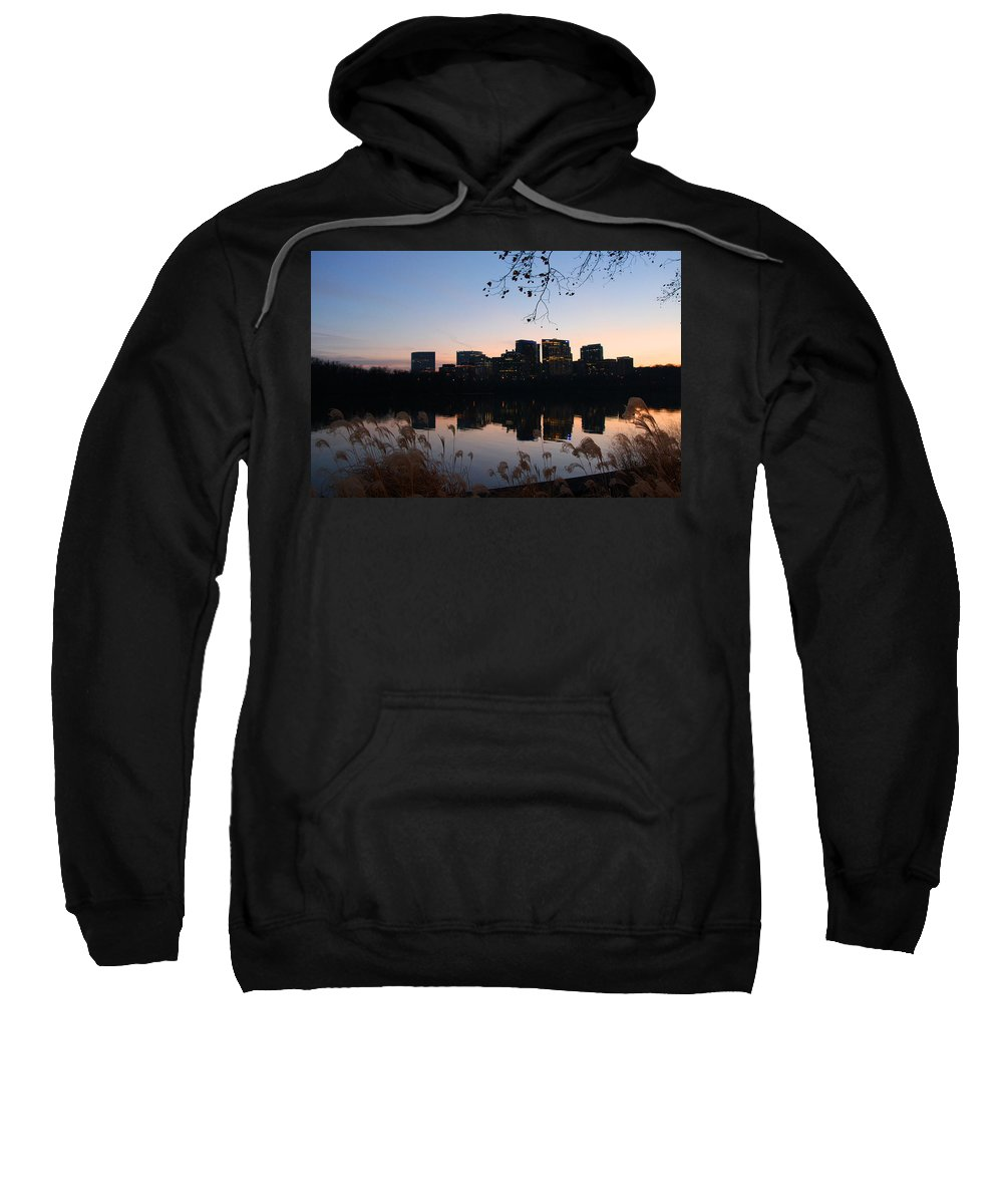 Rosslyn Sweatshirt featuring the photograph Twin Rosslyn by Iryna Goodall