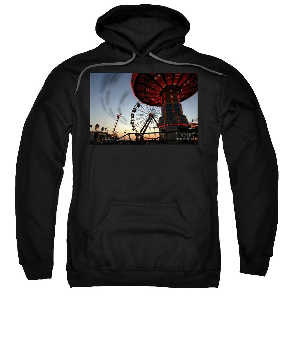 Fair Sweatshirt featuring the photograph Twirling Away by David Lee Thompson