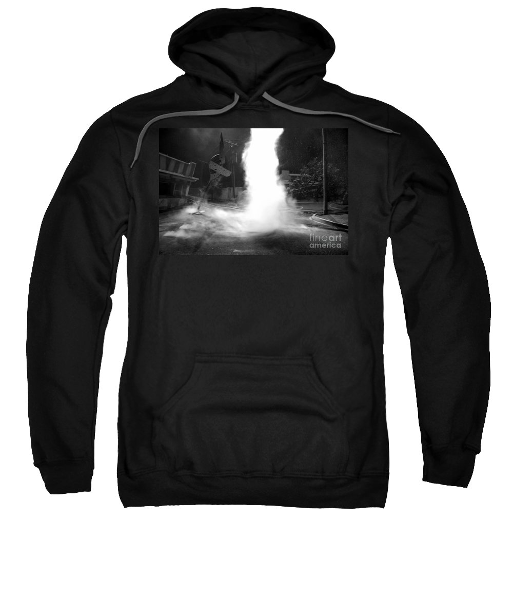 Twister Sweatshirt featuring the photograph Twister In The Neighborhood by David Lee Thompson