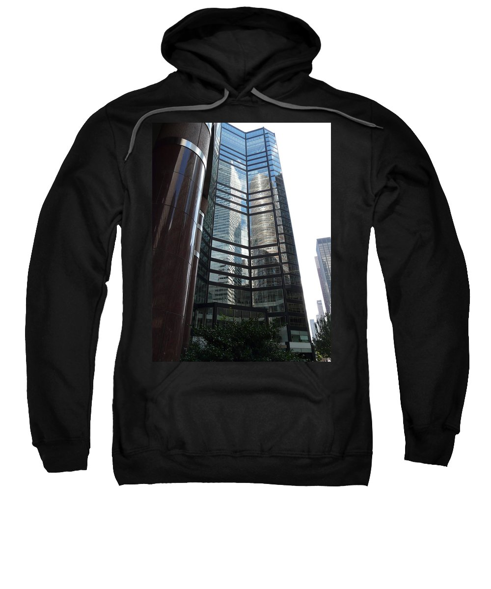 Reflection Sweatshirt featuring the photograph Two In One by Valerie Ornstein