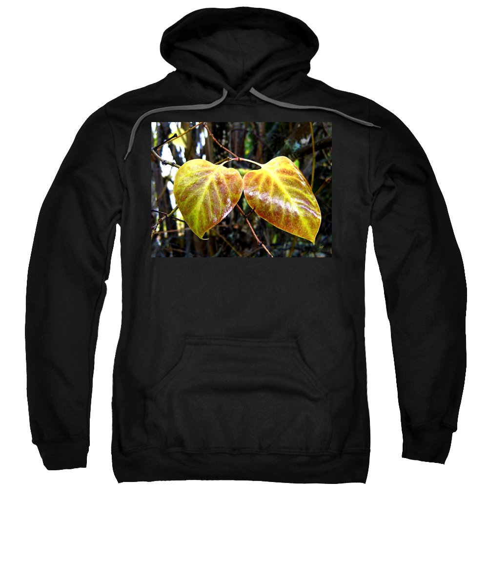 Autumn Sweatshirt featuring the photograph Two Of A Kind by Will Borden