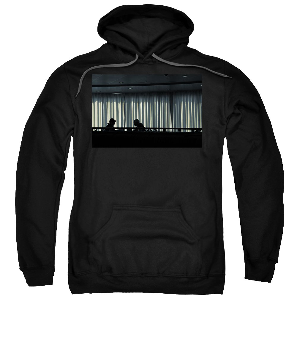 Couple Sweatshirt featuring the photograph Two by Silvia Ganora