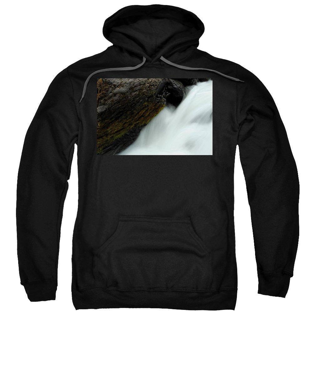 Rock Sweatshirt featuring the photograph Undercut by Donna Blackhall