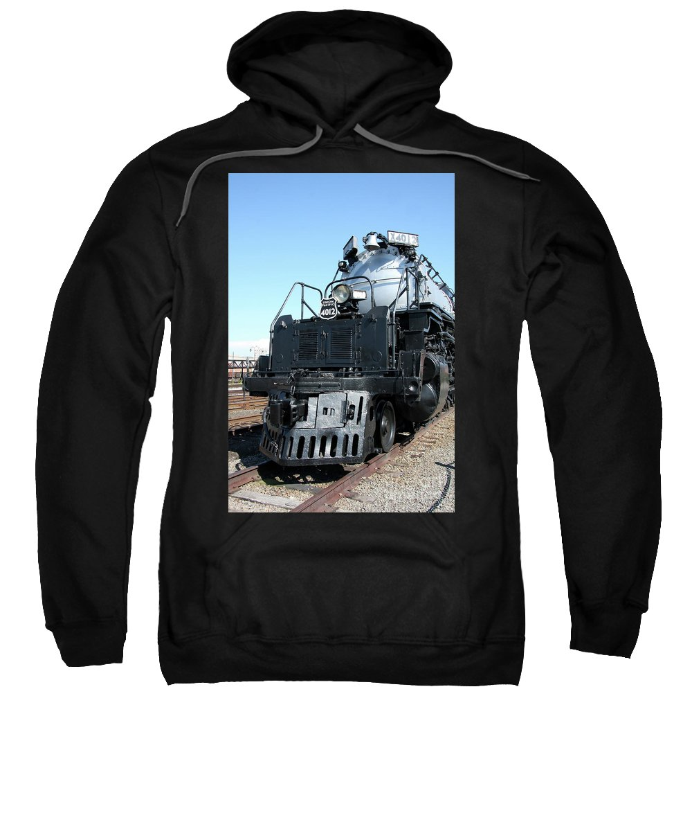 Union Pacific Big Boy Sweatshirt featuring the photograph Union Pacific Big Boy I by Christiane Schulze Art And Photography