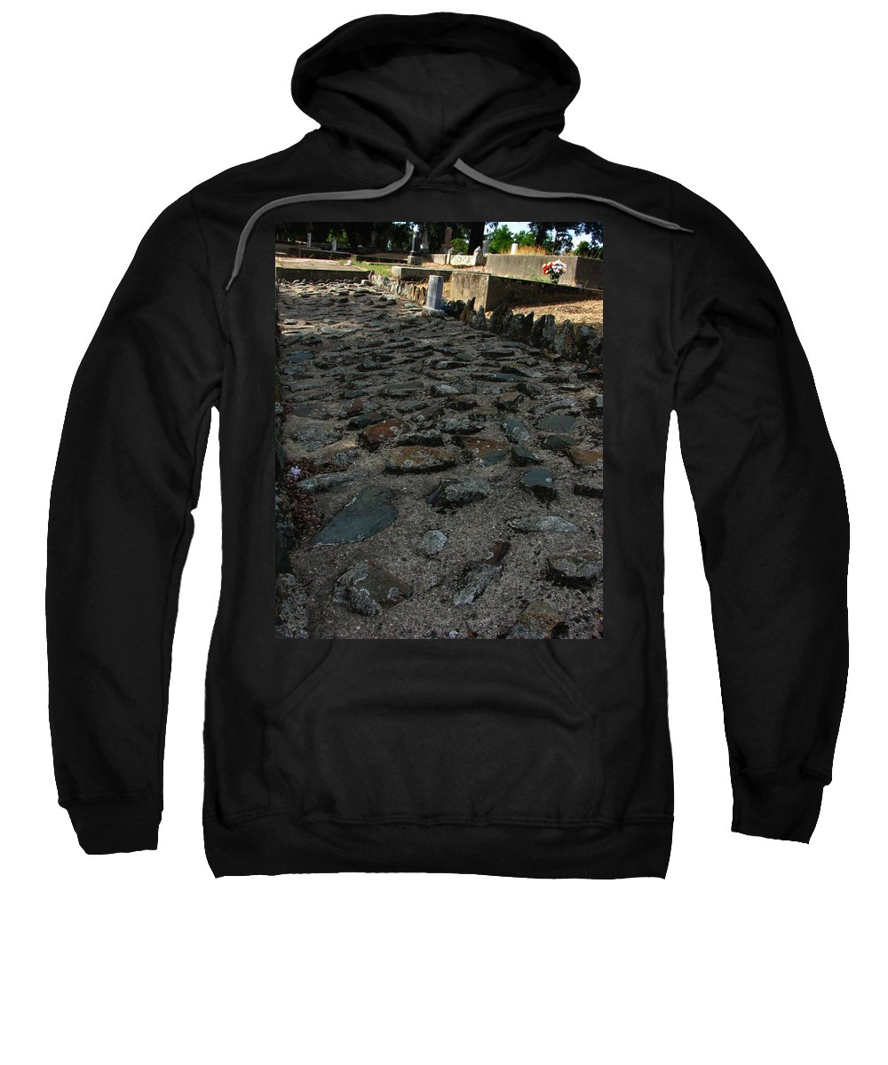 Unsettling Ground Sweatshirt featuring the photograph Unsettling Ground by Peter Piatt