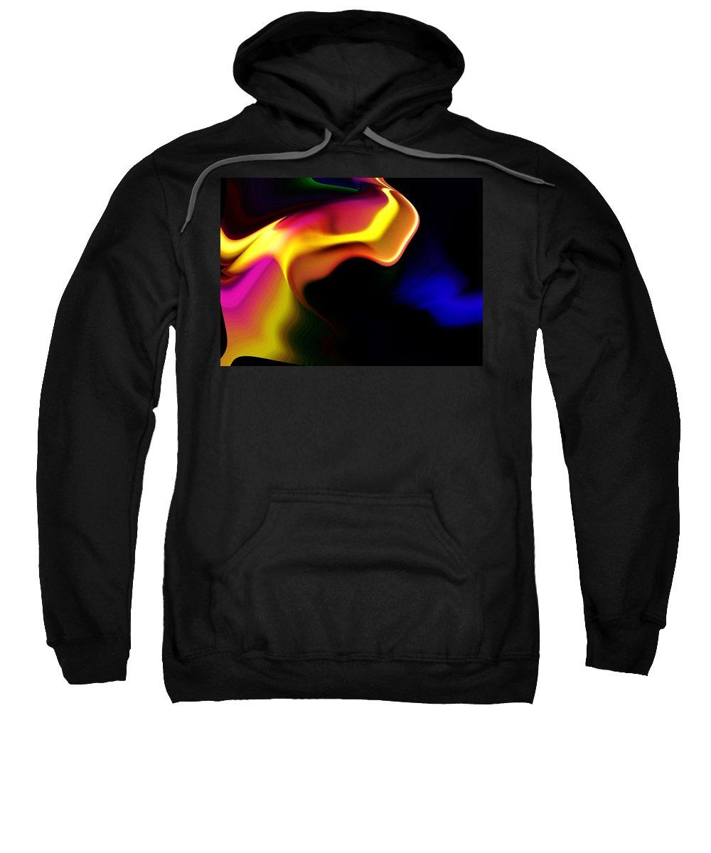 Fantasy Sweatshirt featuring the digital art Untitled 11-28-09 by David Lane