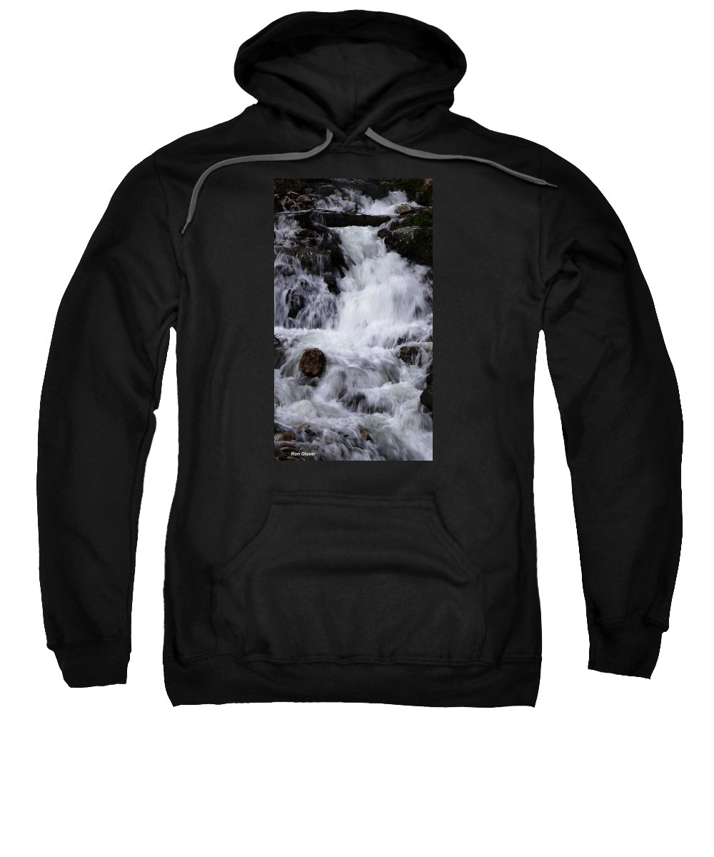 Ron Glaser Sweatshirt featuring the photograph Upper French Creek 1 by Ron Glaser