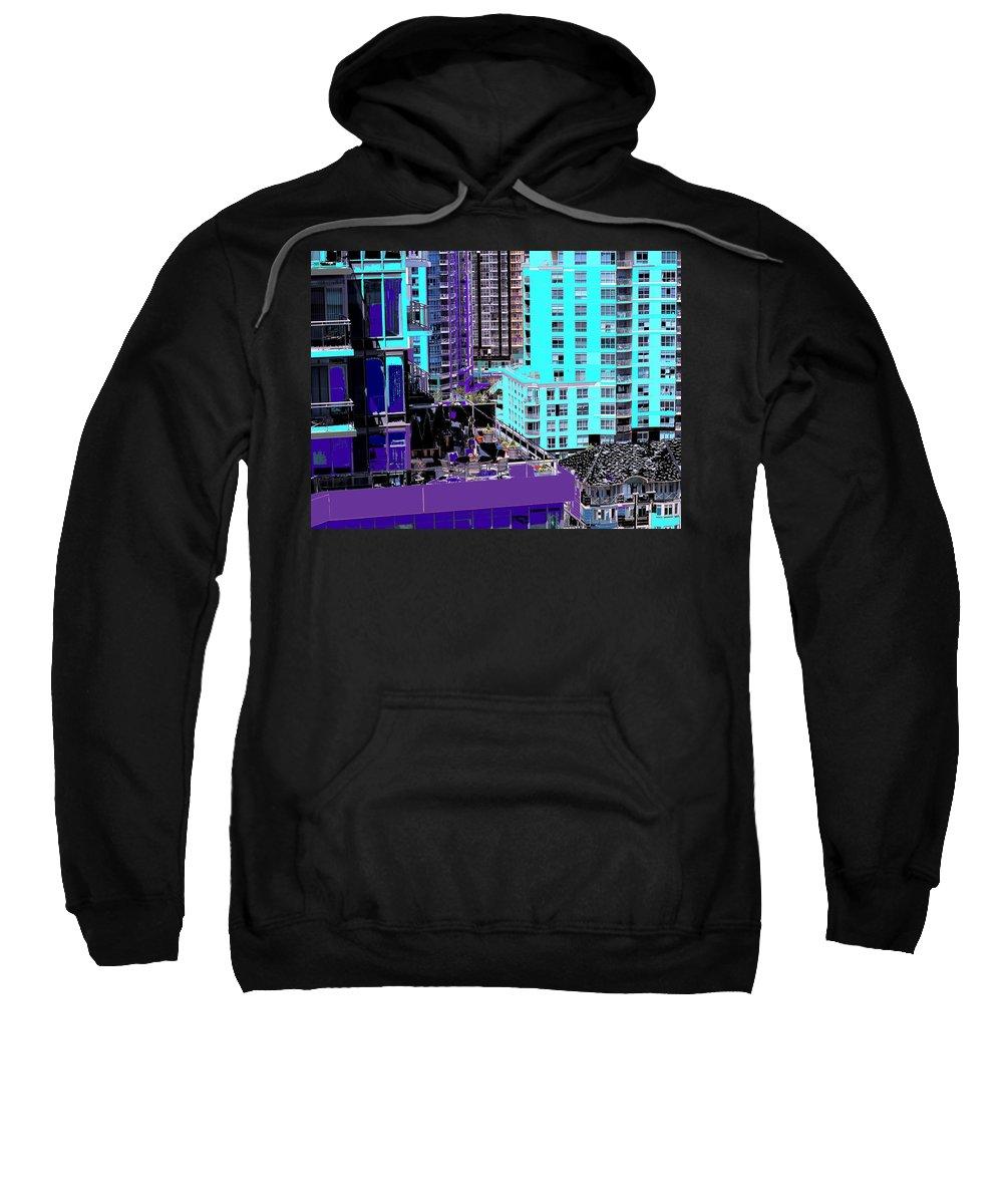Sweatshirt featuring the photograph Urban Jungle by Ian MacDonald