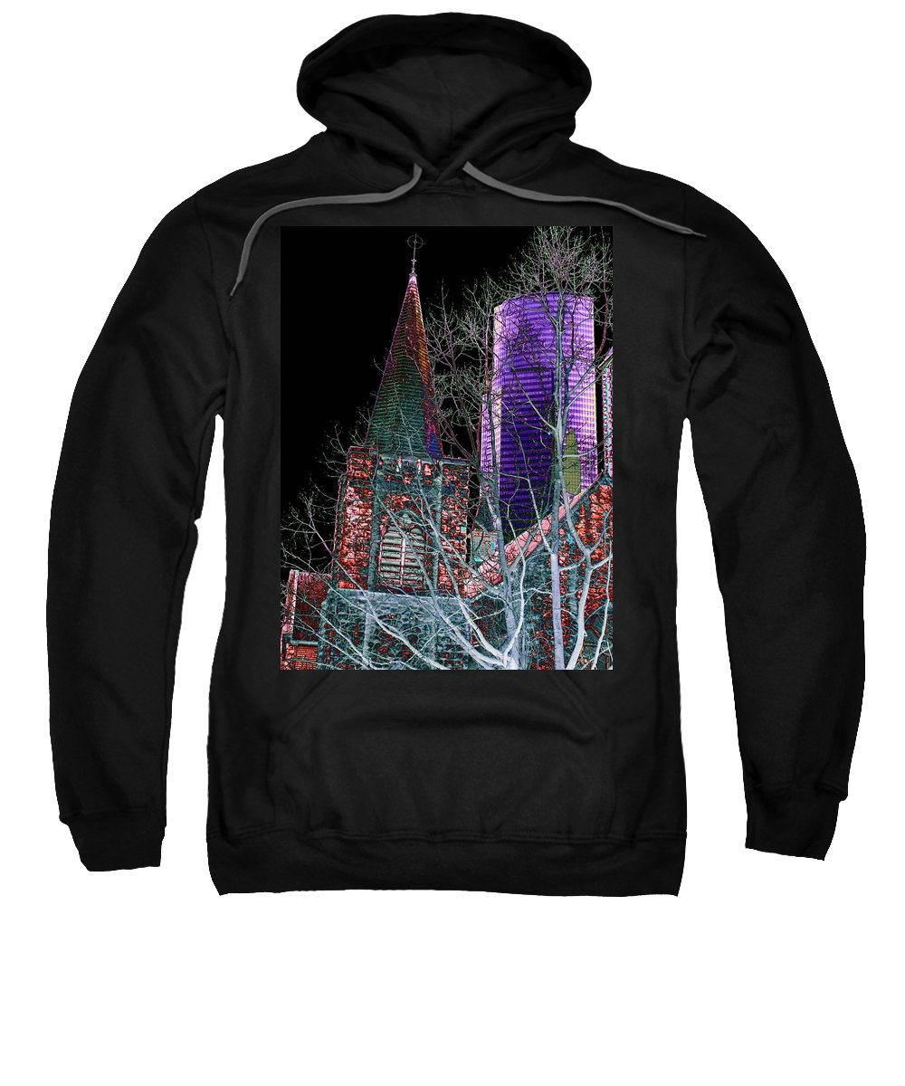 Seattle Sweatshirt featuring the photograph Urban Ministry by Tim Allen