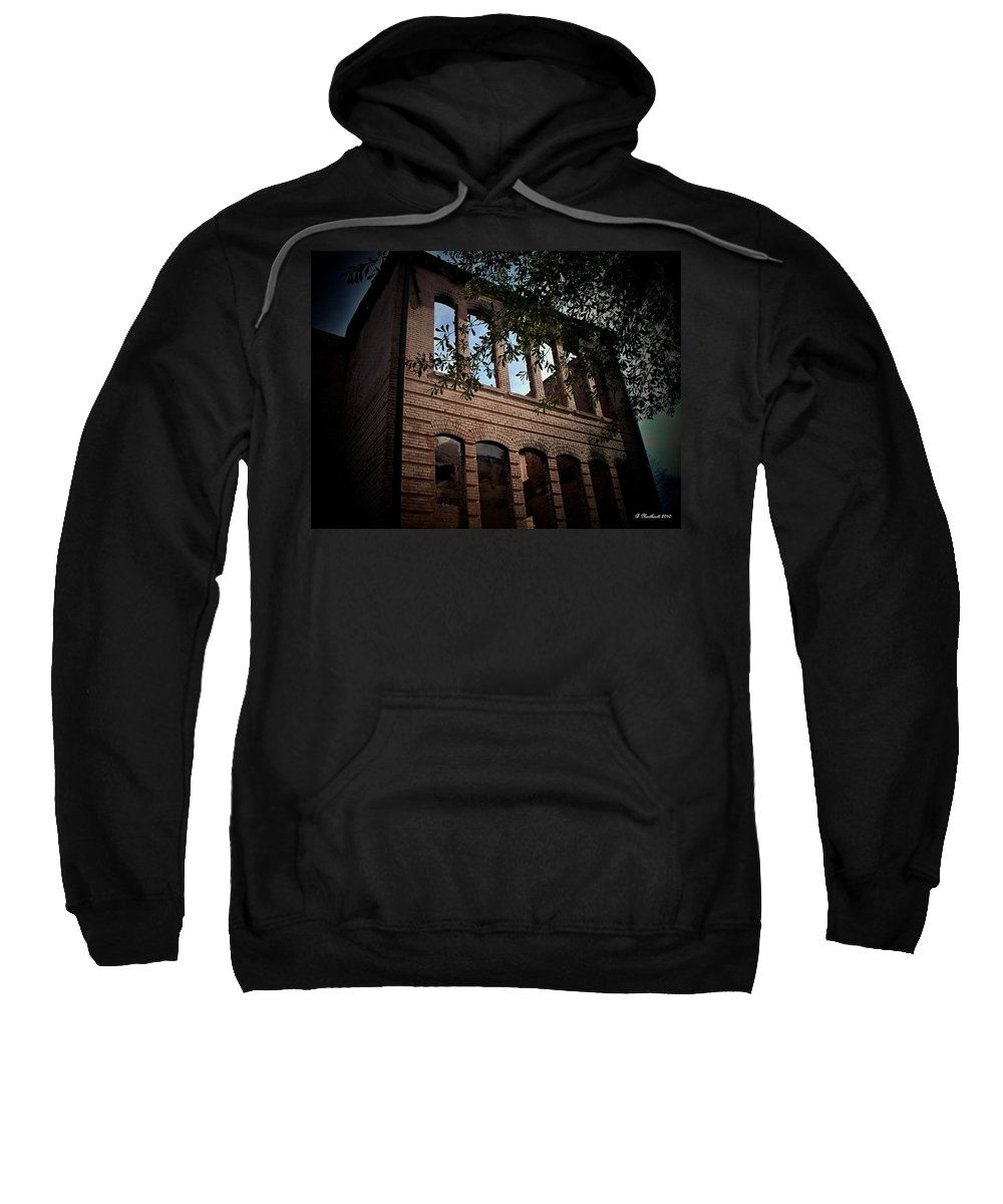 School Sweatshirt featuring the photograph Vacancy by Betty Northcutt